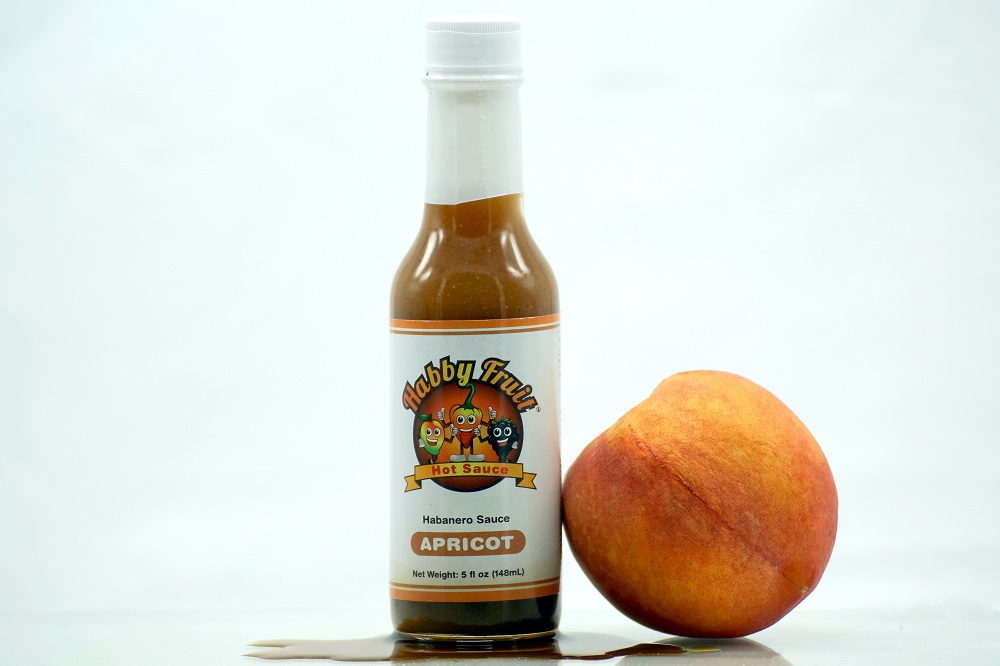 Habby Fruit Apricot Hot Sauce