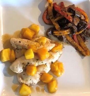 Mango Grilled Chicken
