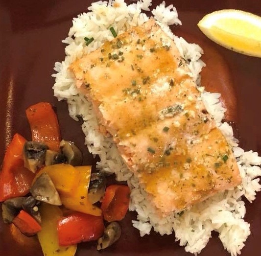 Mango Grilled Salmon