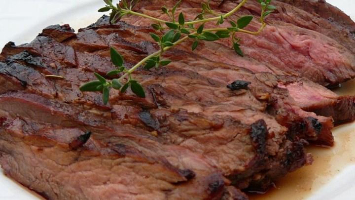 Raspberry Flank Steak