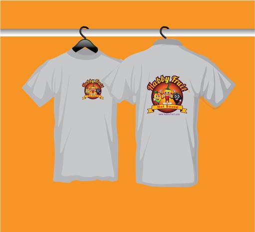 Habby Fruit Men's short sleeve T-shirt Grey