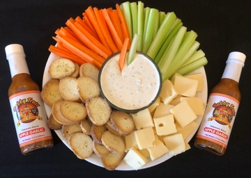 Habby Fruit Apple Garlic Dip