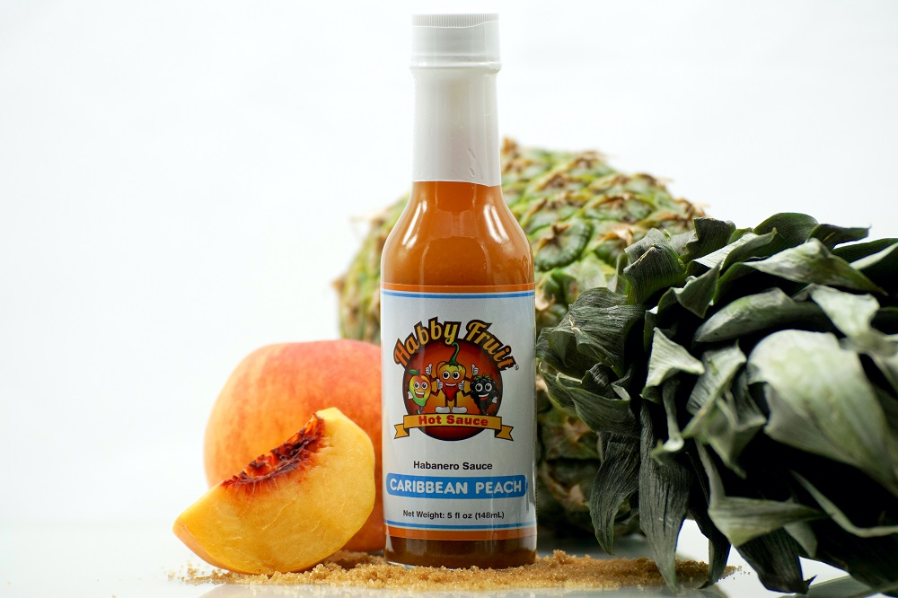 Habby Fruit Caribbean Peach Hot Sauce