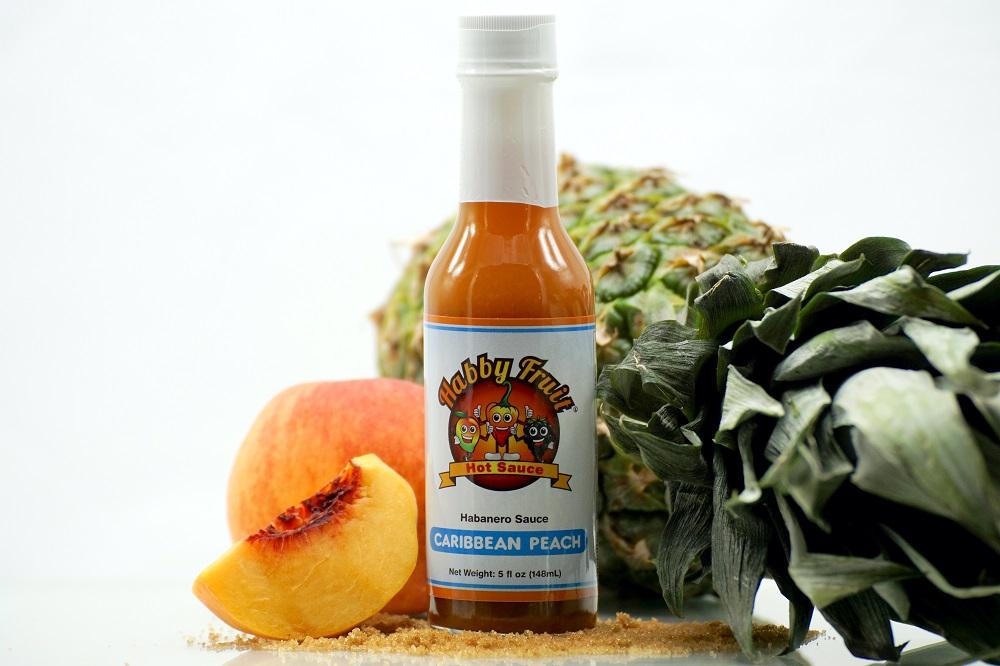Habby Fruit Caribbean Peach Hot Sauce