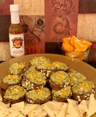 Apricot Pesto & Wheat Bites (Vegan Friendly)
