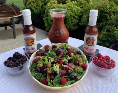 Habby Fruit Fresh Raspberry Vinaigrette Dressing (Vegan Friendly)