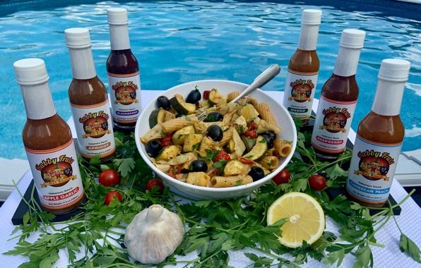 Habby Fruit Summer Pasta (Vegan)