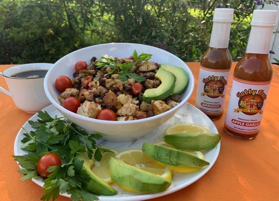 Habby Fruit Tofu Breakfast Bowl (Vegan)