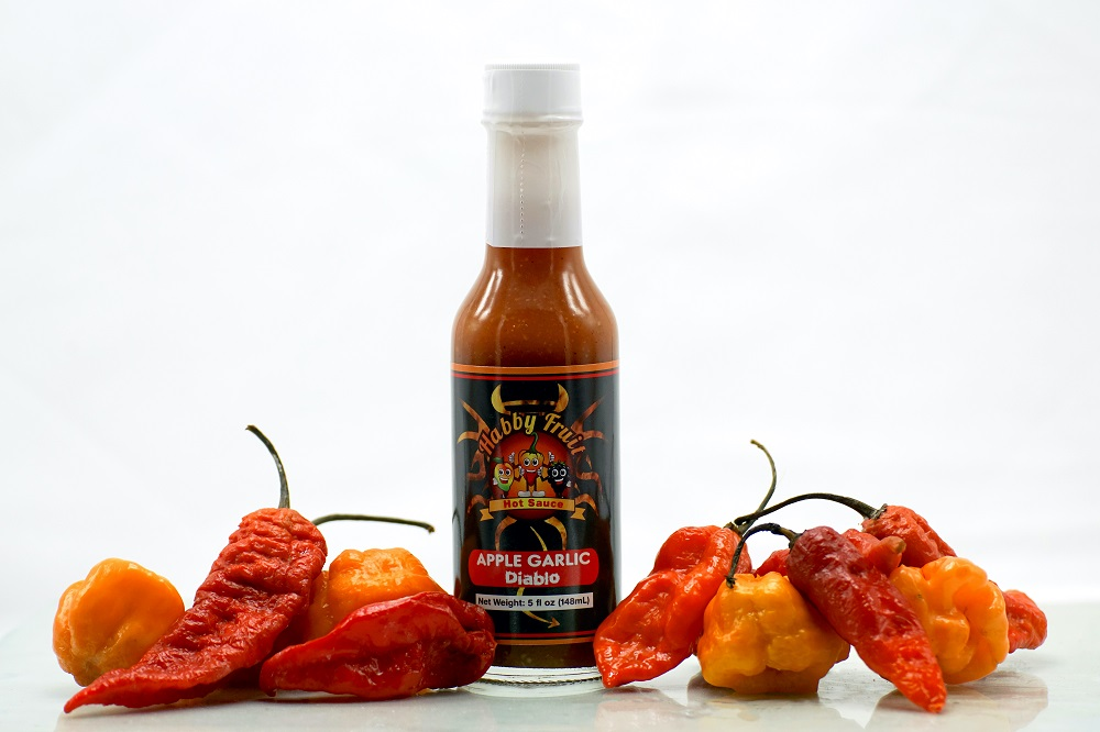 Apple Garlic Diablo Hot Sauce