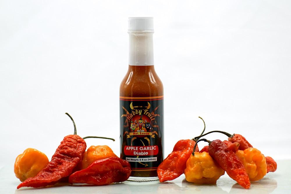 Apple Garlic Diablo Hot Sauce